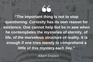 Curiousity quote